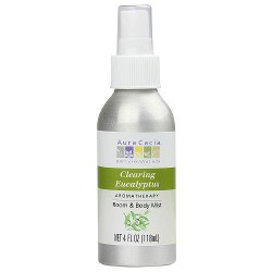 Aura Cacia Aromatherapy mist for room and body, Eucalyptus Harvest, Awakening - 4 oz