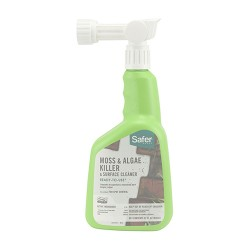 Woodstream Lawn & Grdn D safer moss and algae killer and surface cleaner - 32 ounce, 6 ea