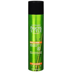 Garnier Fructis Style Sleek and Shine Anti-Humidity Hairspray, Ultra Strong - 8.25 Oz