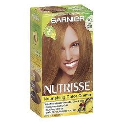 Garnier Nutrisse Permanent Creme Haircolor, #70, Dark Natural Blonde, 1 Ea