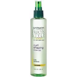 Garnier Fructis Curl Shaping Hair Spray Gel, Strong - 8.5 OZ