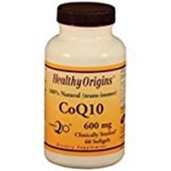 Healthy origins CoQ10 600 mg - 60 softgels