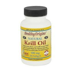 Healthy Origins Natural 500 mg Krill Oil Softgels - 60 ea