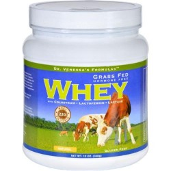 Dr. Venessas formulas whey protein natural - 12 oz