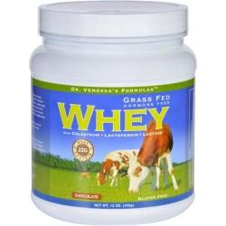 Dr. Venessas formulas whey protein grass fed hormone free chocolate - 12 oz