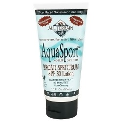 All Terrain performance sunscreen AquaSport with SPF 30 - 3 oz