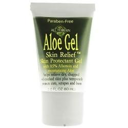 All Terrain aloe gel skin relief with healing herbs - 2 oz