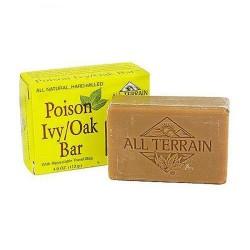 All Terrain all natural poison ivy-oak bar soap - 4 oz