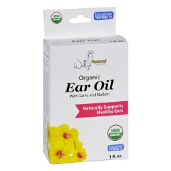 Wallys natural products ear oil organic - 1 oz