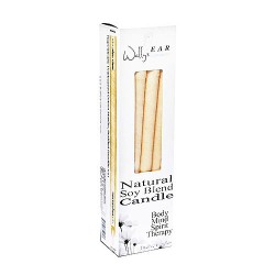 Wallys Natural Products Soy Blend Multi-Purpose Hollow Candles - 12 ea