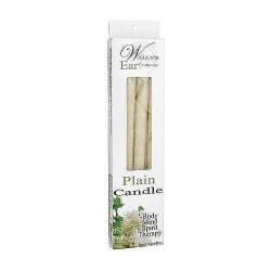 Wallys Natural Plain Paraffin Candles - 4 ea