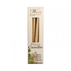 Wally's Candle  Plain - 12 ea