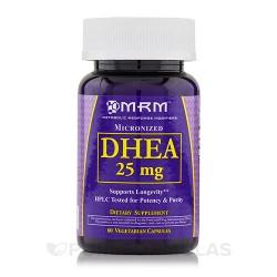 MRM DHEA 25 mg vegetarian capsules - 60 ea