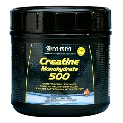 MRM creatine monohydrate 500 for lean muscle mass - 1.1 lbs