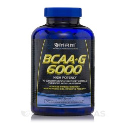 MRM bcaa plus g 6000 high potency capsules - 150 ea