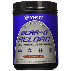 MRM bcaa plus g reload post workout recovery, watermelon - 29.6 oz