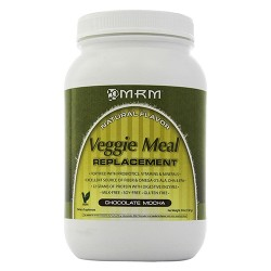 MRM all natural veggie meal replacement, chocolate mocha - 3 lbs