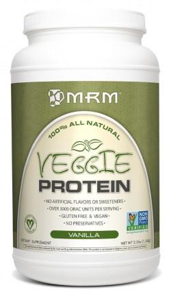 MRM All Natural Veggie Protein Vanilla - 2.5 lbs
