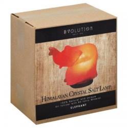Evolution salt elephant himalayan crystal salt lamp ionizer - 1 ea