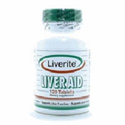 Liverite liver aid dietary supplement tablets - 120 ea