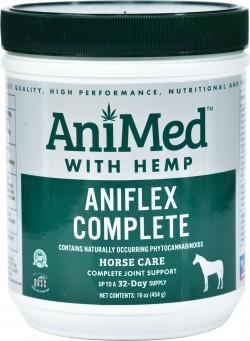 Animed D aniflex complete with hemp - 16 ounce, 12 ea