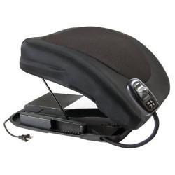 Carex health brands premium power lifting seat, black 20 inches - 1 ea