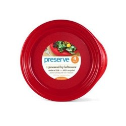 Preserve everyday plates pepper red - 4 ea
