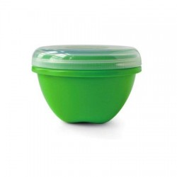 Preserve Large Food Storage Container Green - 25.5 oz,12 pack