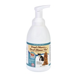 Ark naturals 11011 dont worry dont rinse me dog shampoo - 1 ea