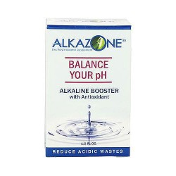 Alkazone Alkaline Booster Drops With Antioxidant - 1.2 oz