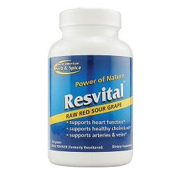 North American herb and spice Resvital bulk powder - 120 gr