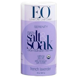 EO bath salts serenity relax body and mind with French Lavender, 22 oz