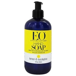 EO Essential Oil liquid hand soap Lemon and Eucalyptus, Refill, 12 oz