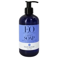 EO liquid hand soap naturally gentle with French Lavender - 12 oz