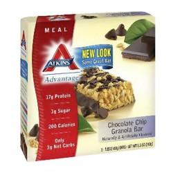 Atkins advantage chocolate chip granola bar - 1.6 oz