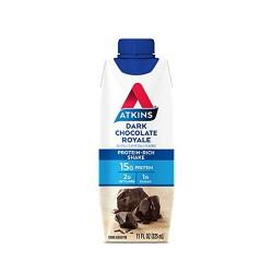 Atkins advantage dark chocolate royale shake - 11 oz