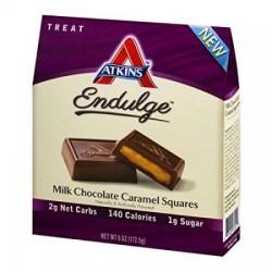 Atkins endulge pieces milk chocolate caramel squares - 6.1 oz,6 pack