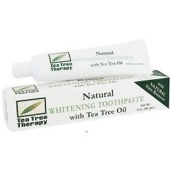 Tea Tree Therapy Whitening Toothpaste, with Tea Tree Oil - 3 oz