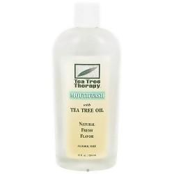 Tea Tree Therapy Mouthwash with Tea Tree Oil - 12 oz