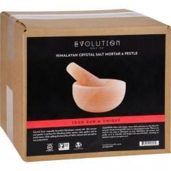 Evolution salt mortar and pestle crystal salt set himalayan - 1 Count