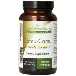 Harmonic innerprizes camu camu veggie capsules - 120 ea