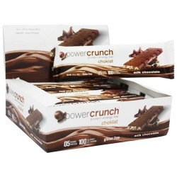 Bionutritional research group - power crunch protein energy choklat bar milk chocolate -  1.5 oz