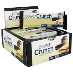 Power crunch high protein energy bar - 1.4 oz, 12 pack