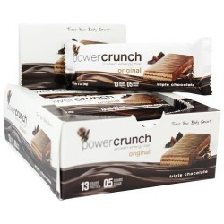 Bionutritional research group - bnrg power crunch high protein energy wafer triple chocolate - 1 oz
