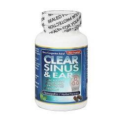 Clear Homeopathic Sinus And Ear Capsules - 60 ea