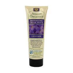 Avalon organics moisturizing cream shave, lavender - 8 oz
