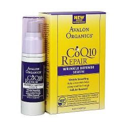 Avalon organics CoQ10 cellular renewing wrinkle defense serum, 0.55 oz