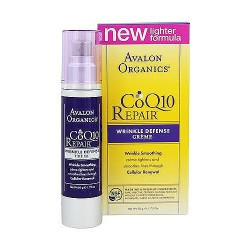 Avalon organics CoQ10 wrinkle defense creme, all skin types - 1.75 oz