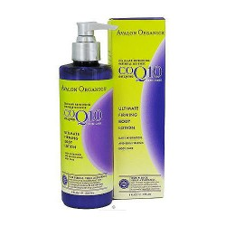 Avalon organics CoQ10 ultimate firming body lotion - 8 oz