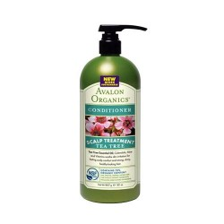 Avalon organics tea tree scalp treatment conditioner - 32 oz